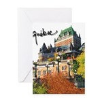 Frontenac Castle with Signatu Greeting Card