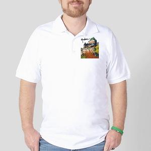 Frontenac Castle with Signatu Golf Shirt