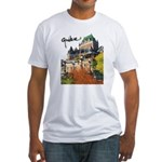 Frontenac Castle with Signatu Fitted T-Shirt