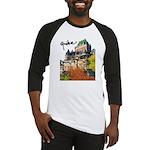 Frontenac Castle with Signatu Baseball Jersey