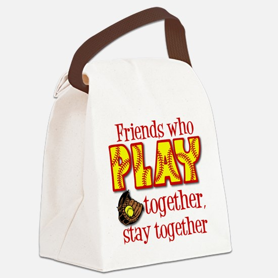 PLAY TOGETHER Canvas Lunch Bag