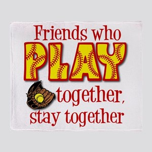 PLAY TOGETHER Throw Blanket