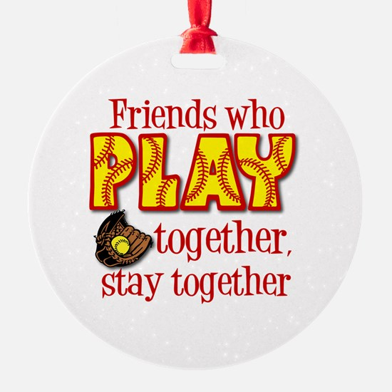 PLAY TOGETHER Ornament
