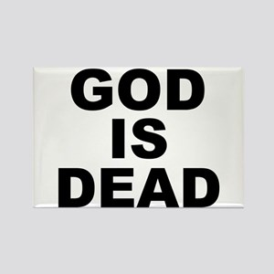 GOD IS DEAD Rectangle Magnet