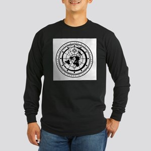 A product name Long Sleeve Dark T-Shirt