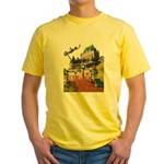 Frontenac Castle Quebec Signa Yellow T-Shirt