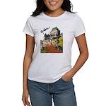 Frontenac Castle Quebec Signa Women's T-Shirt