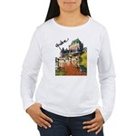Frontenac Castle Quebec Signa Women's Long Sleeve