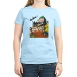 Frontenac Castle Quebec Signa Women's Light T-Shir