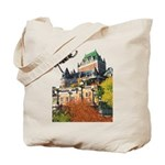 Frontenac Castle Quebec Signa Tote Bag