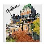 Frontenac Castle Quebec Signa Tile Coaster