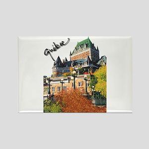 Frontenac Castle Quebec Signa Rectangle Magnet