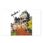 Frontenac Castle Quebec Signa Postcards (Package o