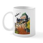 Frontenac Castle Quebec Signa Mug