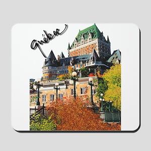 Frontenac Castle Quebec Signa Mousepad