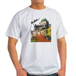 Frontenac Castle Quebec Signa Light T-Shirt