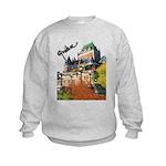 Frontenac Castle Quebec Signa Kids Sweatshirt