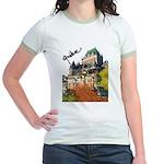 Frontenac Castle Quebec Signa Jr. Ringer T-Shirt