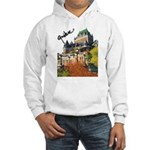 Frontenac Castle Quebec Signa Hooded Sweatshirt
