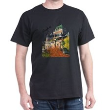 Frontenac Castle Quebec Signa Dark T-Shirt