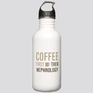 Coffee Then Nephrology Stainless Water Bottle 1.0L
