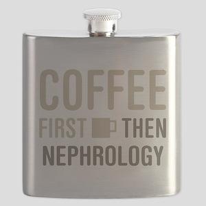 Coffee Then Nephrology Flask