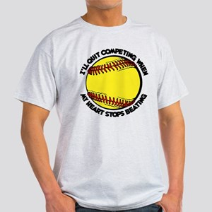 QUIT SOFTBALL Light T-Shirt
