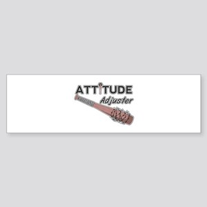 Attitude adjuster Bumper Sticker