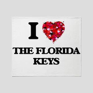 I love The Florida Keys Throw Blanket
