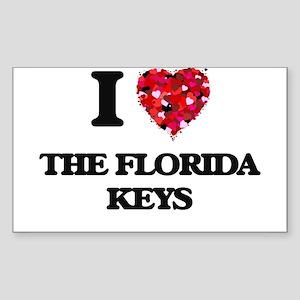 I love The Florida Keys Sticker