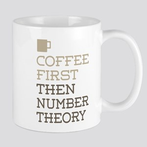 Coffee Then Number Theory Mugs