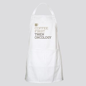 Coffee Then Oncology Apron
