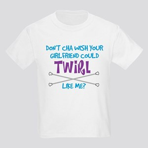 Twirl Like Me Kids Light T-Shirt