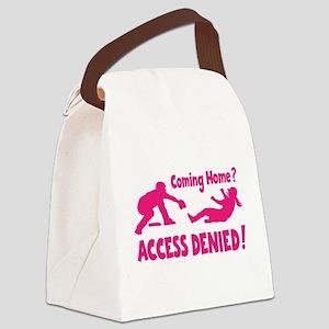 ACCESS DENIED Canvas Lunch Bag