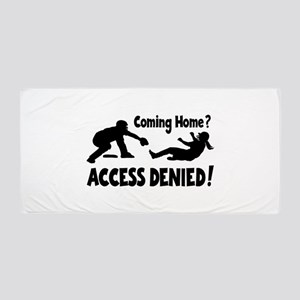 Access Denied Beach Towel
