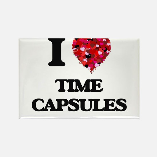 I love Time Capsules Magnets