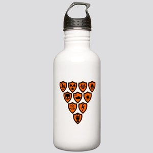 Warning signs Stainless Water Bottle 1.0L