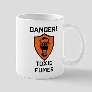 Danger Toxic Fumes Mugs