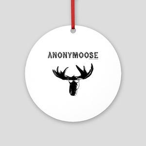 anonymoose Ornament (Round)