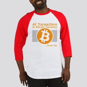 Bitcoin Transaction 01 Baseball Jersey