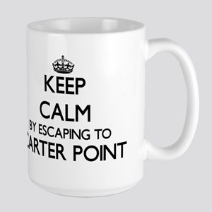 Keep calm by escaping to Carter Point Washing Mugs