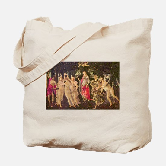 Primavera by Botticelli Tote Bag