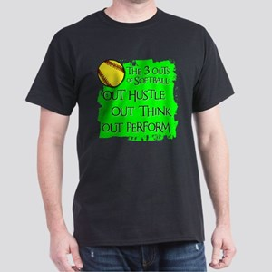 THE THREE OUTS Dark T-Shirt