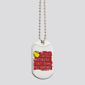 The Three Outs Dog Tags