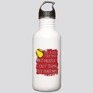 THE THREE OUTS Stainless Water Bottle 1.0L