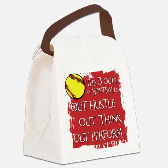 THE THREE OUTS Canvas Lunch Bag