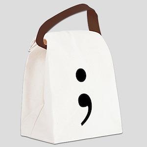 Semi Canvas Lunch Bag