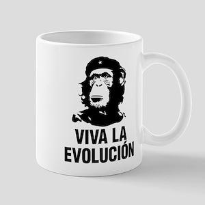 Viva La Evolutiion Mugs