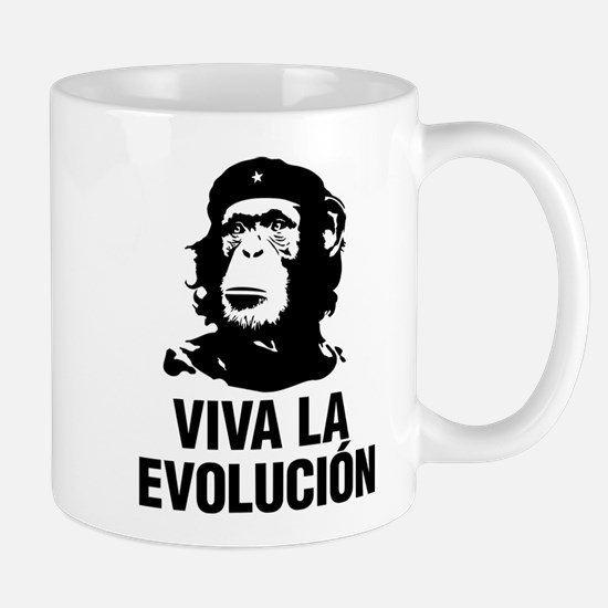 Viva La Evolutiion Mugs