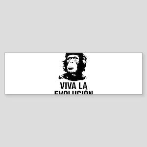 Viva La Evolutiion Bumper Sticker